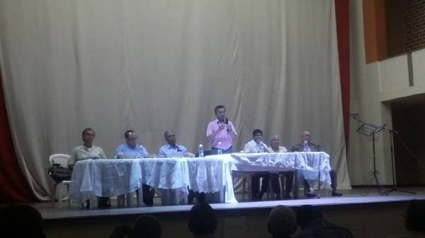 Presente en reunión de Confederación de Pensionados de Colombia