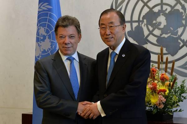 Informe de la ONU - Colombia sobre construcción de paz