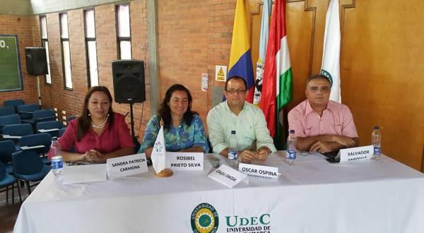 Invitado a la Universidad de Cundinamarca y Acofaen, en Girardot