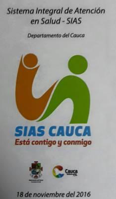 Reconocimiento al Modelo de Atención Integral del Salud en el Cauca - SIAS