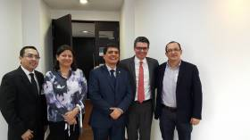 Reunión con Ministro de Salud -  por la salud de Popayán