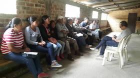 Visita a zona rural oriental de Popayán