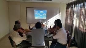 Visita a equipo técnico de la ESE Centro 1- Piendamó
