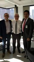 Reunión con el Viceministro de Salud Luis Fernando Correa