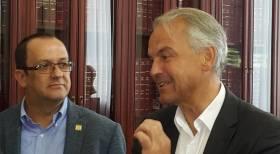 Oscar recibió al Alcalde de Ginebra - Suiza - Rémy Pagani