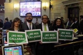 Legislatura 2017-2018 No nos callarán
