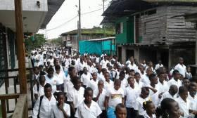 Solidaridad con Timbiquí