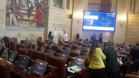 Bancada de la U ausente en debate de estatuto de la oposición