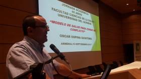 Oscar invitado a jornada académica en facultad  de Ciencias de la Salud de Universidad del Quindío
