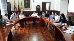 Reunión con el Alcalde de Popayán