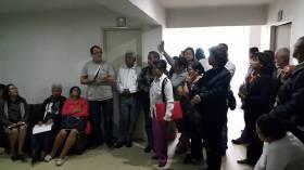 Reunión con la CUT, usuarios y trabajadores de Saludcoop y Cafesalud