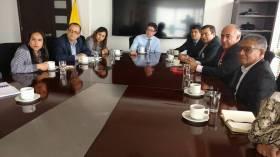 Acordando agenda para el Cauca con Ministro de Salud
