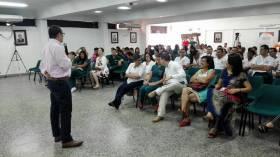 Visita a Neiva:  Políticas sobre derecho a la salud