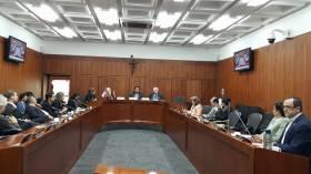Trabajo en la Comisión de Paz del Congreso