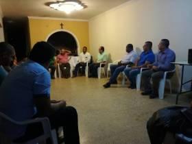 En el norte del Cauca hablando de la implementación de los acuerdos de paz