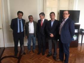 Reunión con el Ministro del Postconflicto Rafael Pardo